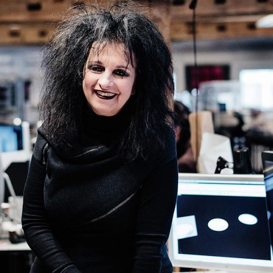 Portrait French Architect Odile Decq Joins the 2018 Eurasian prize Jury Board