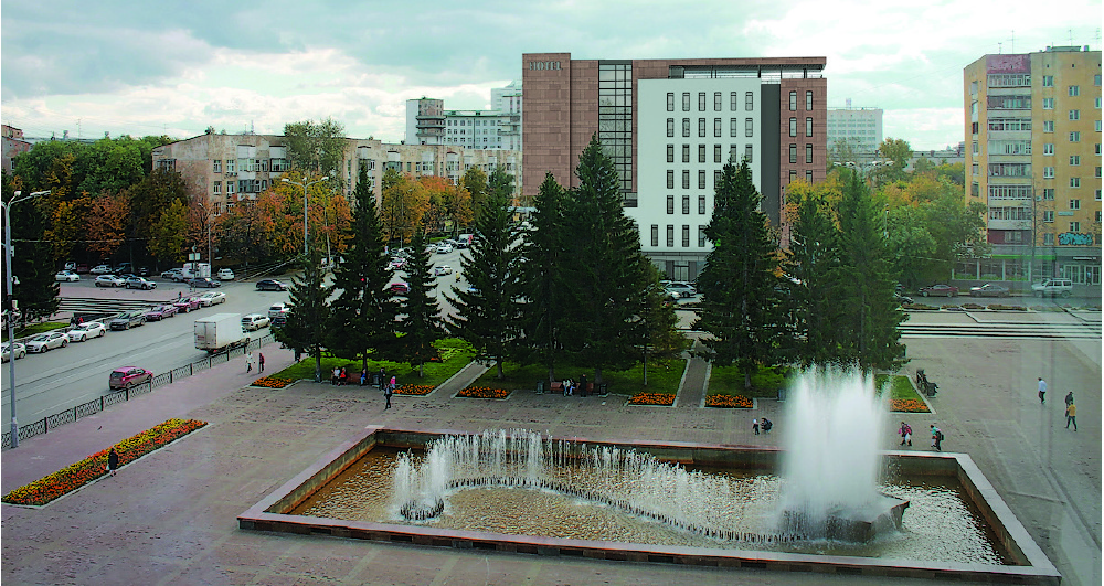 HOTEL IN THE SQUARE OF THE SOVIET ARMY