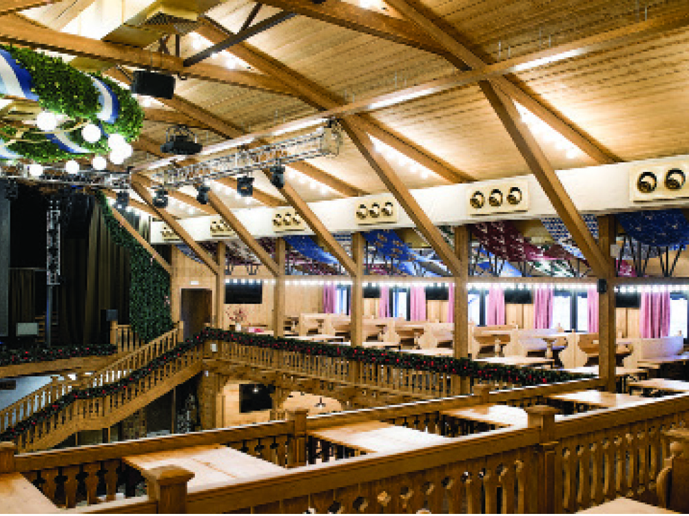 The Alpenhaus restaurant
