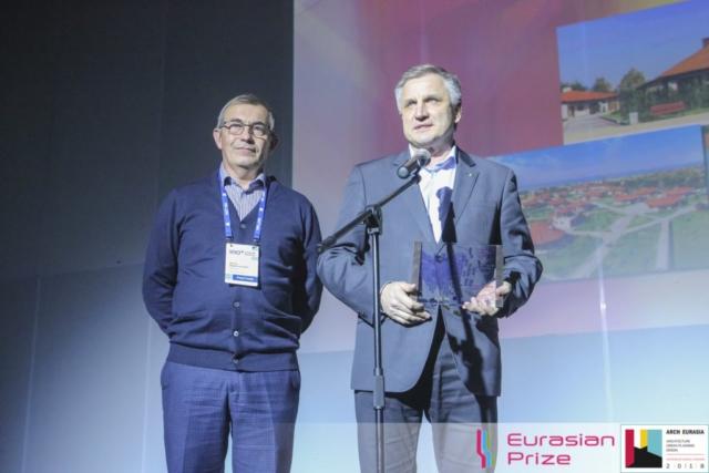 Евразийская Премия_Eurasian Prize 2018_Юрий Рыбин Юрий Листов