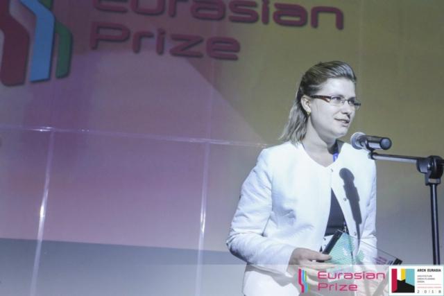 Евразийская Премия_Eurasian Prize 2018_Витюк Екатерина УГАХУ