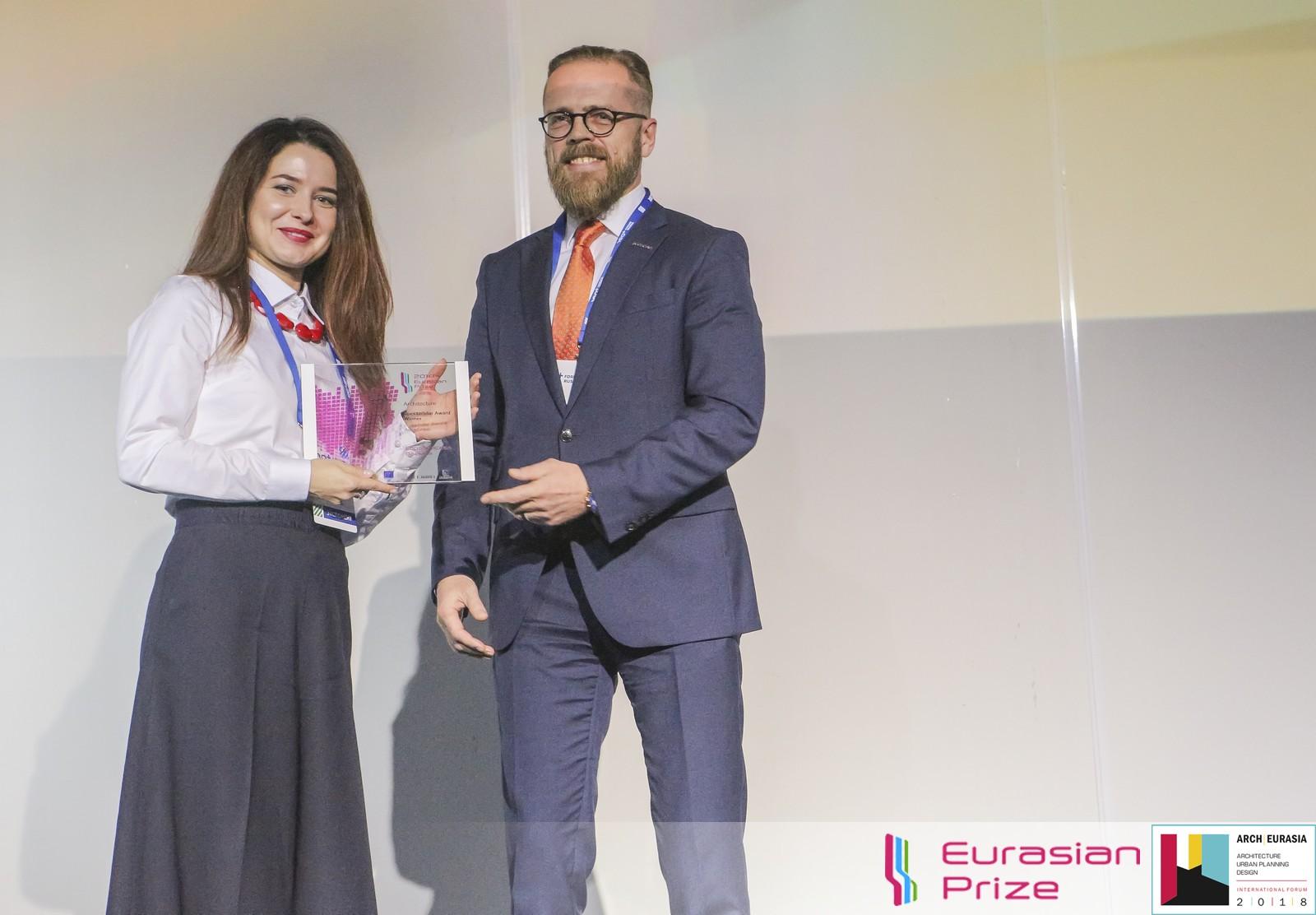 Евразийская Премия_Eurasian Prize 2018_Черноголов Игорь Алексеевич