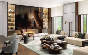 HBA-Residential_Ningbo-Private-Residence-and-Clubhouse_Family-Lounge