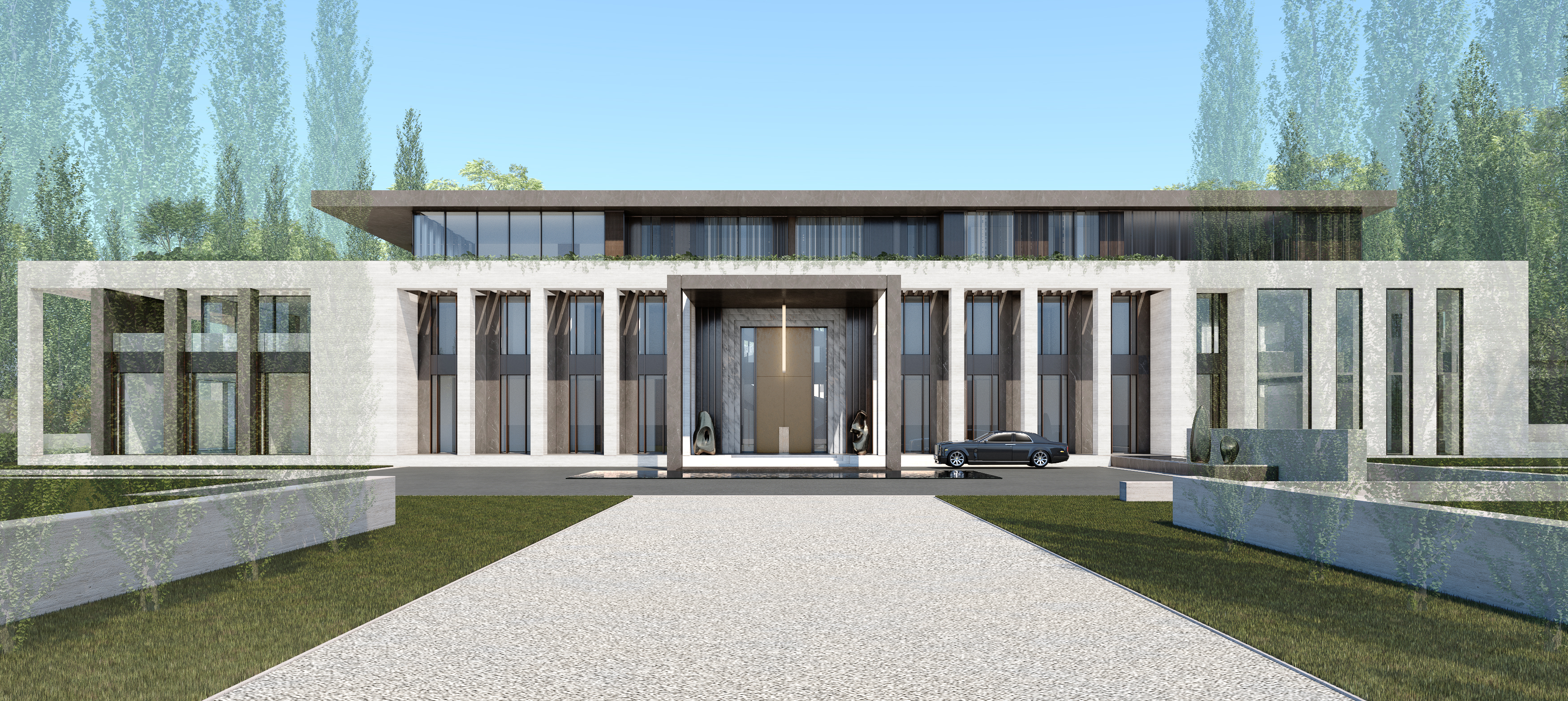 HBA Residential_Ningbo Private Residence and Clubhouse_Exterior