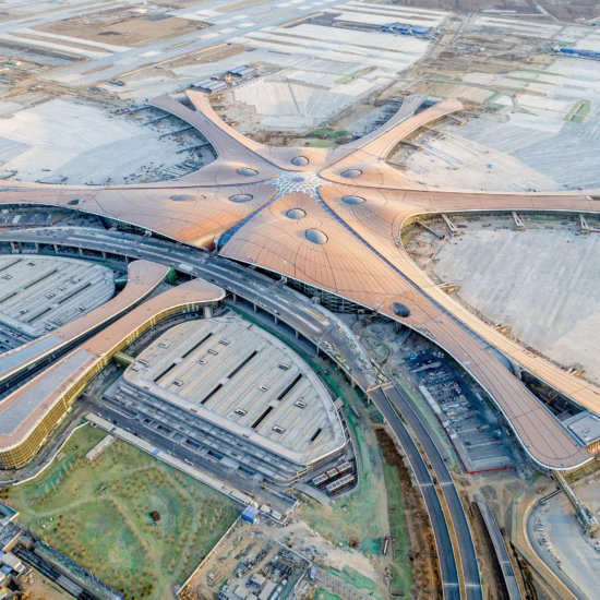 Beijing, Beijing, China. 5th Jan, 2019. Beijing, CHINA-The Beijing Daxing International Airport, worldA¢a?¬a?¢s largest airport, will be put into operation before September 30th, 2019. Credit: SIPA Asia/ZUMA Wire/Alamy Live News