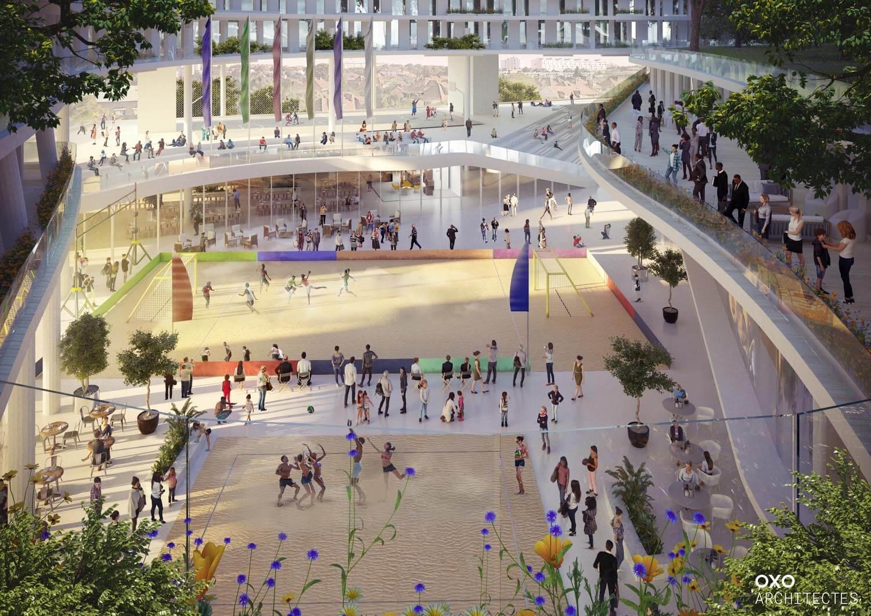 Boconcept Rue De Rennes oxo architectes introduced the new project - Евразийская Премия
